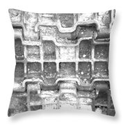 Tank Track Throw Pillow