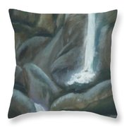 Tears Of The Moon Throw Pillow