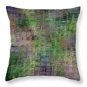 Technology Abstract Throw Pillow