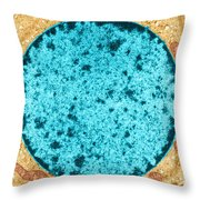 Tem Of Leydig Cell Throw Pillow