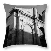Tempio Malatestiano In Rimini Italy  Throw Pillow