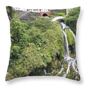 Temple Of Eternal Spring Throw Pillow