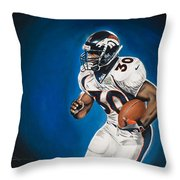 Terrell Davis  Throw Pillow
