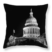 Texas State Capitol 2 Throw Pillow