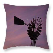 Texas Sunrise II Throw Pillow
