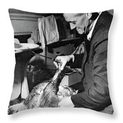 Thanksgiving, 1940 Throw Pillow