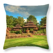 The Alumni Memorial Grove Throw Pillow