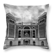 The Ballpark In Arlington Throw Pillow