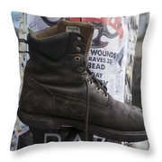 The Boot Throw Pillow