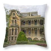 The Bremond House Throw Pillow