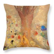 The Buddha Throw Pillow