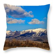 The Butte Throw Pillow