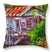 The Camp Bayou Throw Pillow