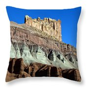 The Castle Capitol Reef National Park Utah Throw Pillow