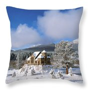 The Chapel On The Rock I Throw Pillow