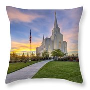 The Chosen Path Throw Pillow