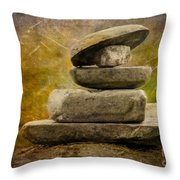 The Clam Throw Pillow