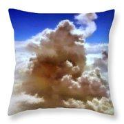 The Cloud Throw Pillow