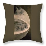 The Creation Of The World Throw Pillow