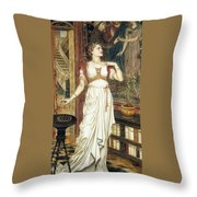 The Crown Of Glory Throw Pillow