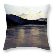 The Deepening Day  Throw Pillow