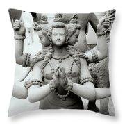 The Deity Throw Pillow
