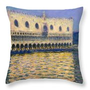The Doges Palace Throw Pillow
