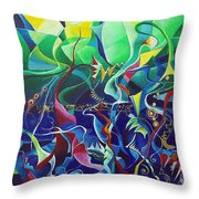 the dreams of Jacob Throw Pillow