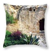 The Empty Tomb Throw Pillow
