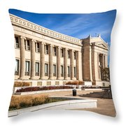 The Field Museum In Chicago Throw Pillow