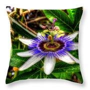 The Flower 14 Throw Pillow