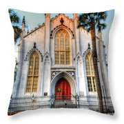 The French Huguenot Church Throw Pillow