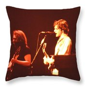 In Concert - The Grateful Dead  Throw Pillow
