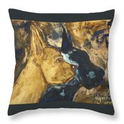 The Great Shadow Throw Pillow