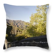 The Great Wall 1064 Throw Pillow