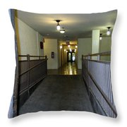The Hall  Throw Pillow