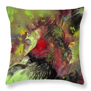The Heart Of Nature Throw Pillow