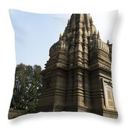 The Hindu Temple Throw Pillow