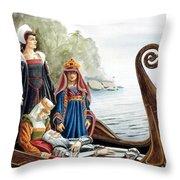 The Isle Of Avalon Throw Pillow