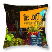 The Joint Throw Pillow