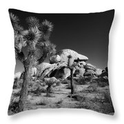 The Joshua Tree Throw Pillow