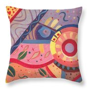 The Joy Of Design X V I I I Part 2 Throw Pillow