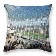 The Kauffman Center For Performing Arts Throw Pillow