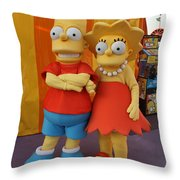 The Kids Throw Pillow
