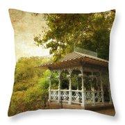 The Ladies Pavilion Throw Pillow