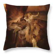 The Lament For Icarus Throw Pillow