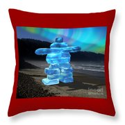 The Last Of The Ice Throw Pillow
