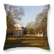 The Lawn University Of Virginia Throw Pillow