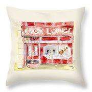 The Lenox Lounge Throw Pillow