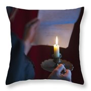 The Love Letter Throw Pillow